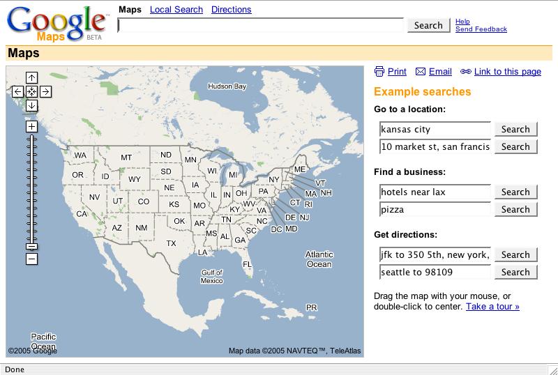 google map story